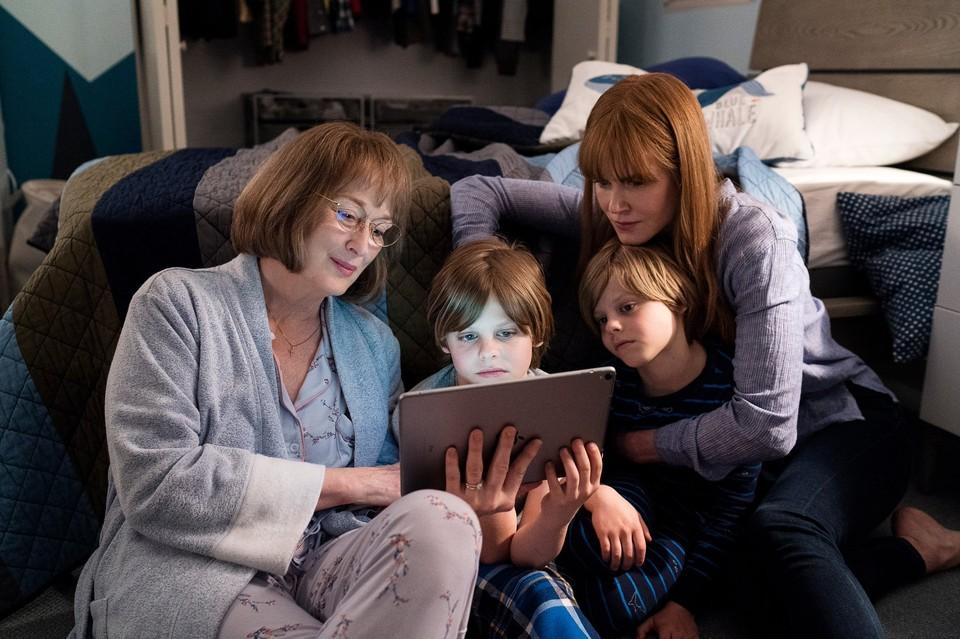 """Мэрил Стрип и Николь Кидман - две оскароносные актрисы в сериале """"Большая маленькая ложь"""""""
