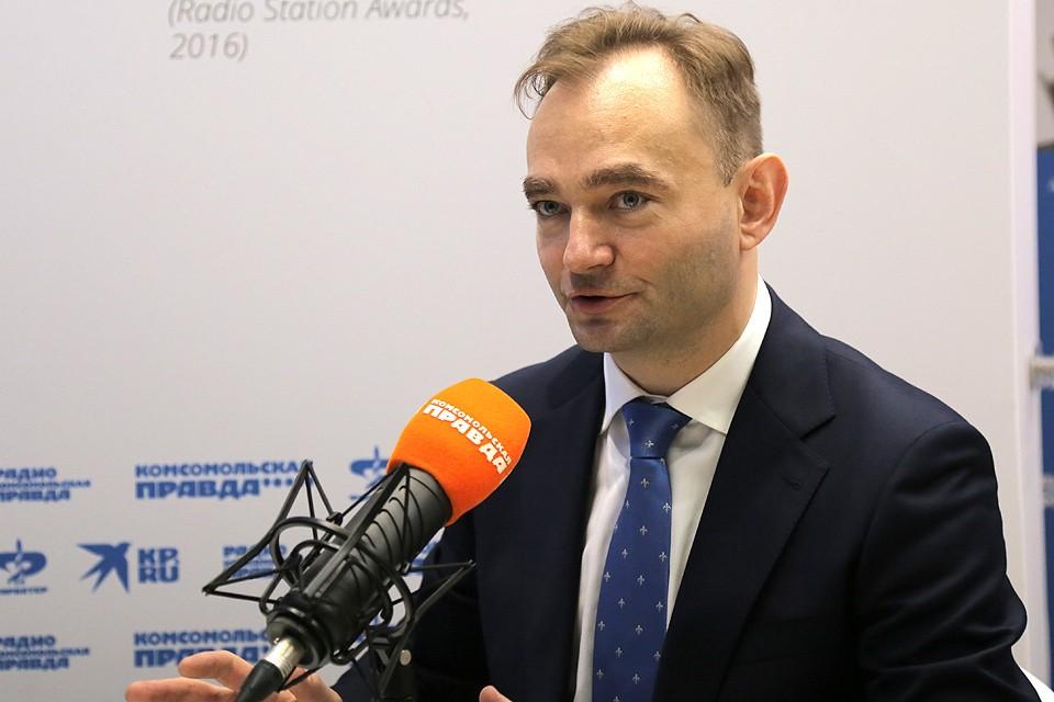 Заместитель министра цифрового развития, связи и массовых коммуникаций Российской Федерации Максим Паршин.