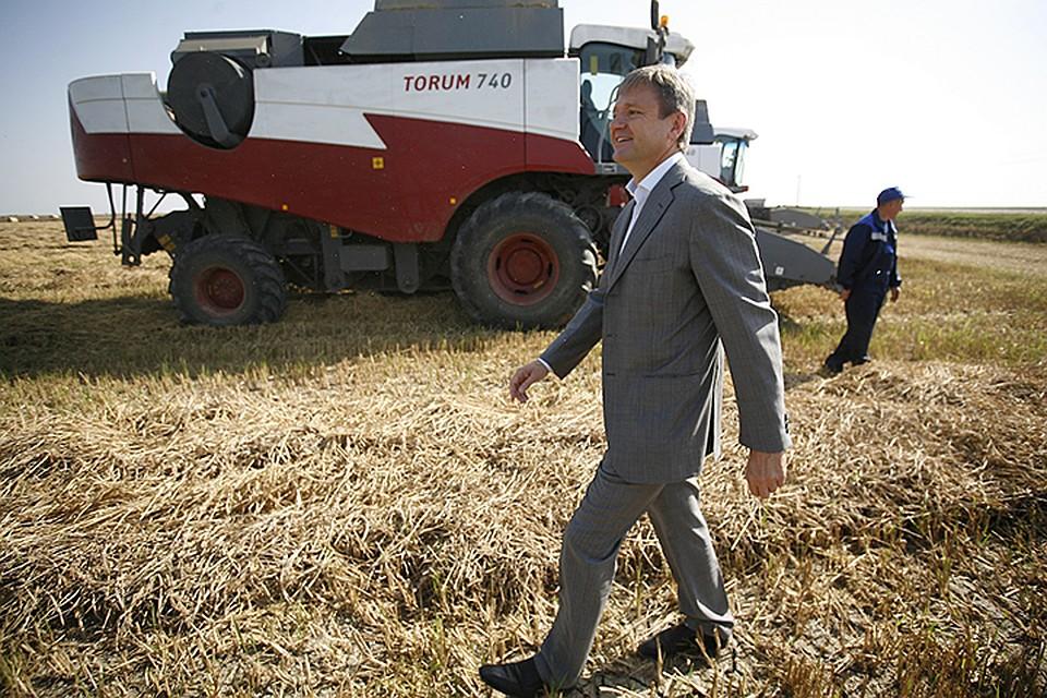 Возглавляет рейтинг землевладельцев семья бывшего министра сельского хозяйства и экс-губернатора Краснодарского края Александра Ткачева