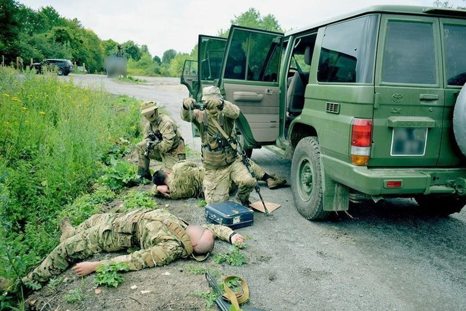 Киев не гнушается использовать спецназовцев для диверсий и терактов в Донбассе. Фото: vk.com/anti_terrorism