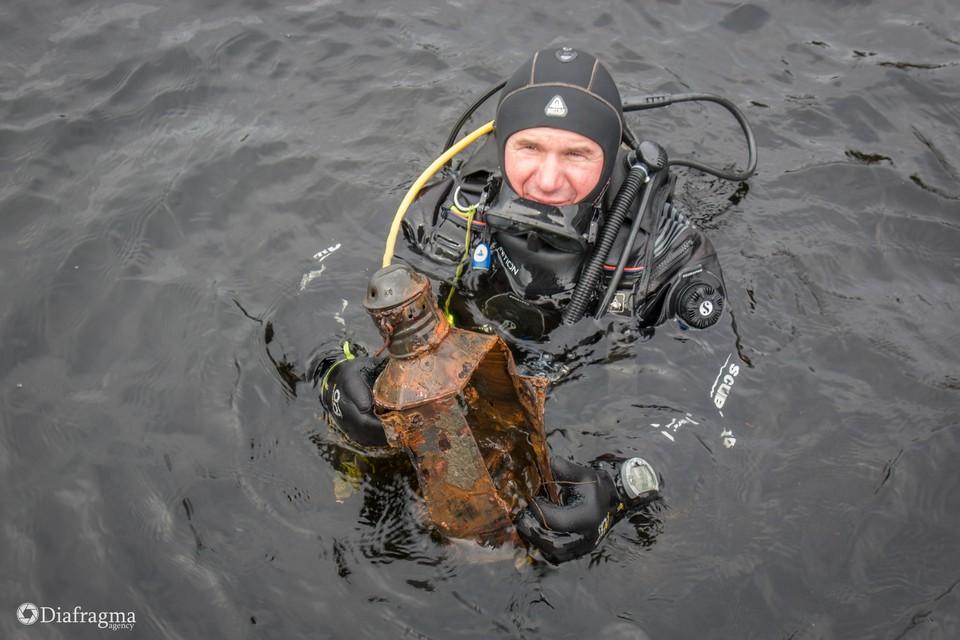 Орловские дайверы нашли пароход «Valamon luostari». Фото: Станислав Трофимов