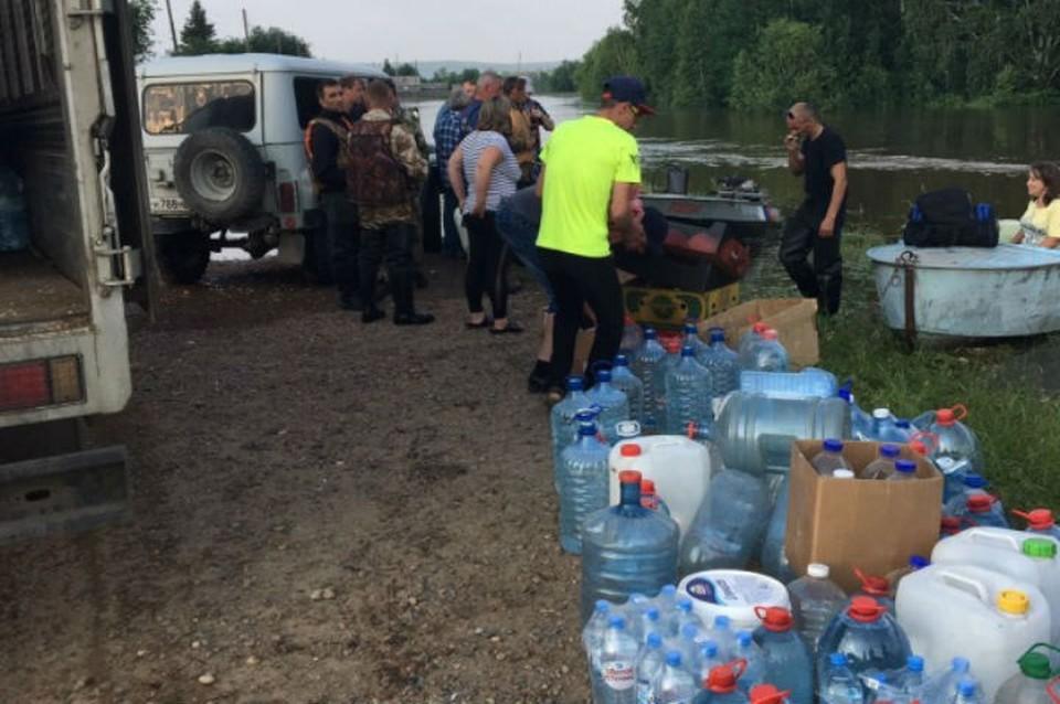 Помощь пострадавшим от наводнения в Иркутской области: как перечислить деньги и куда нести вещи