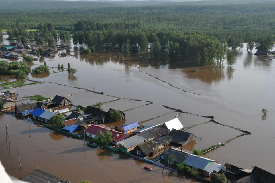 Карта наводнений в Иркутской области: сколько поселков остается под водой. Фото: МЧС России.