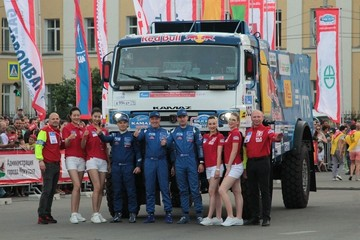 Ралли Шелковый путь 2019 в Иркутске: лучшие кадры церемонии открытия