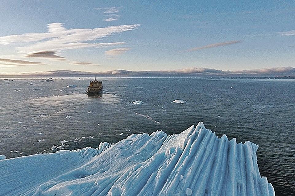 """В ОАЭ планируют доставить настоящий айсберг. ФОТО: пресс-служба """"Роснефти"""""""