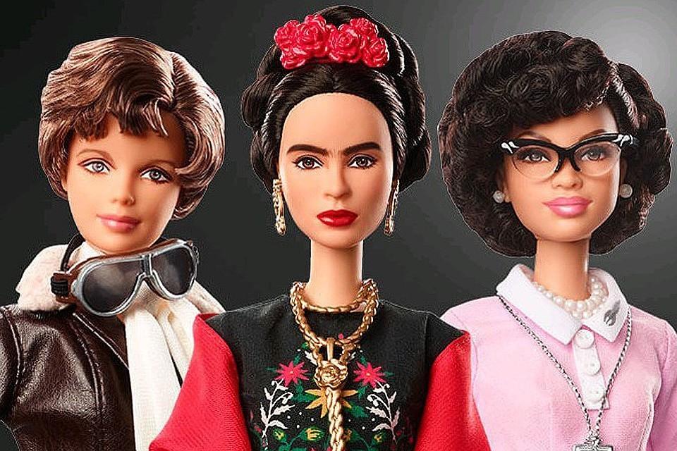 За 60 лет куклы Барби получили более 200 профессий. ФОТО: Mattel