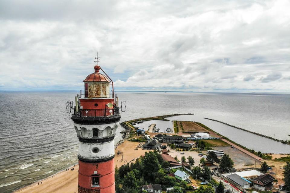 Осиновецкий маяк — один из символов блокадного подвига.