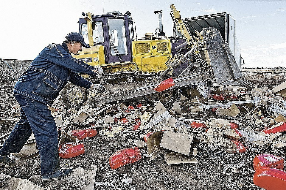 Роспотребнадзор: за 5 лет вывялено три тысячи тонн санкционных продуктов Фото: Сергей МЕДВЕДЕВ/ТАСС