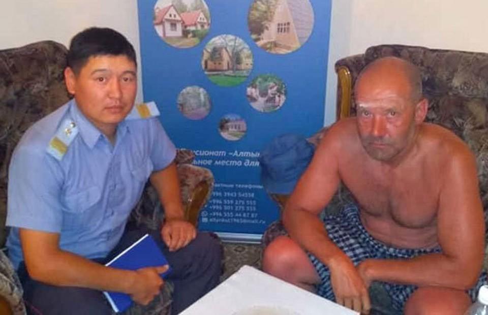Гость из Казахстана явно не думал, что отпуск выдастся таким экстремальным.