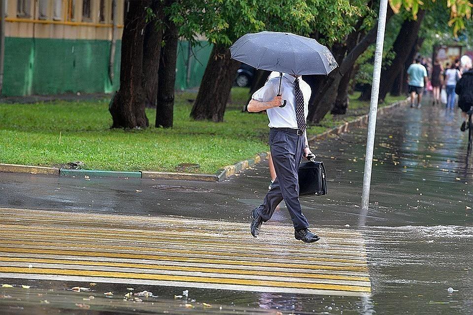 В Московском регионе обещают дождь и сильный вечер
