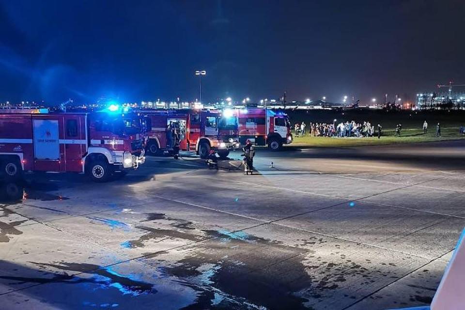В ночь на пятницу в аэропорту «Шереметьево» случилось ЧП. Фото: Instagram/Ivan S.K.
