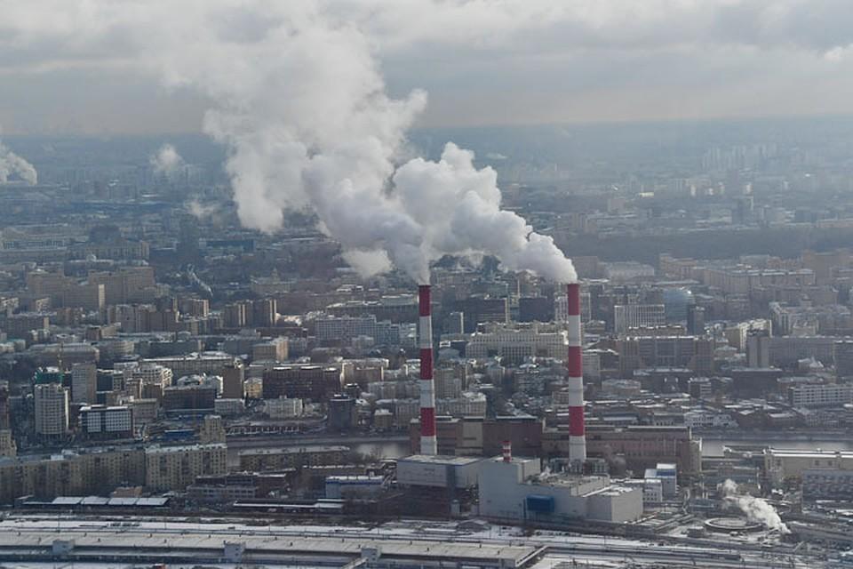 Росгидромет назвал города с самым загрязненным воздухом