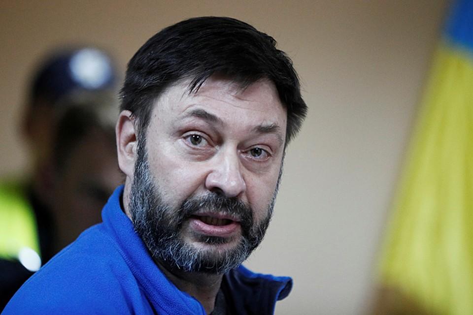 Суд в Киеве продлил арест главного редактора РИА «Новости Украина» Кирилла Вышинского