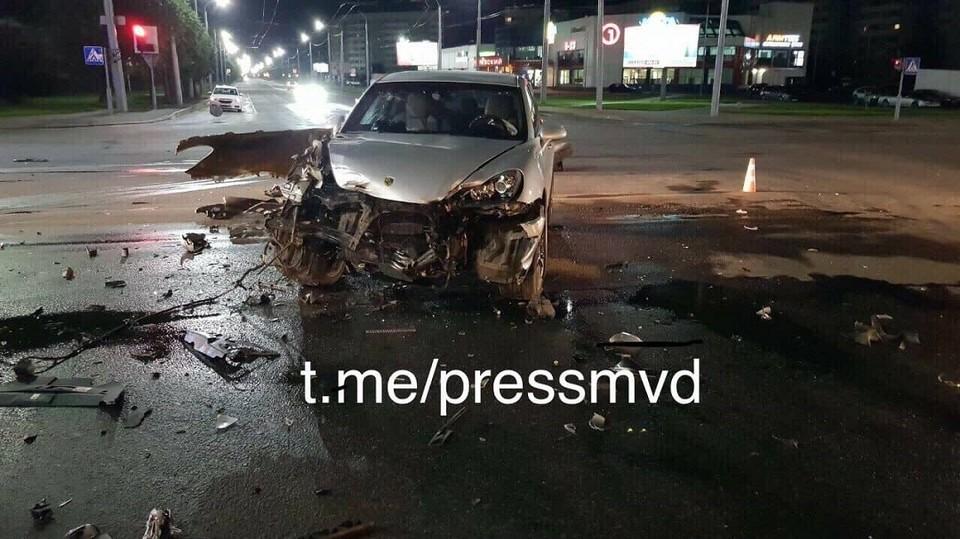 Пострадавших во время аварии нет, водители были трезвы