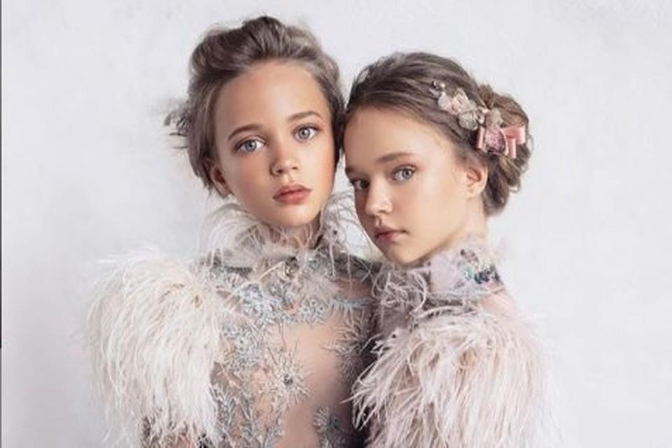 «Синие глаза и пепельные волосы»: самая красивая в мире школьница-модель из Красноярска снялась для элитного бренда. На фото Алиса слева. Фото: Mischka Aoki.