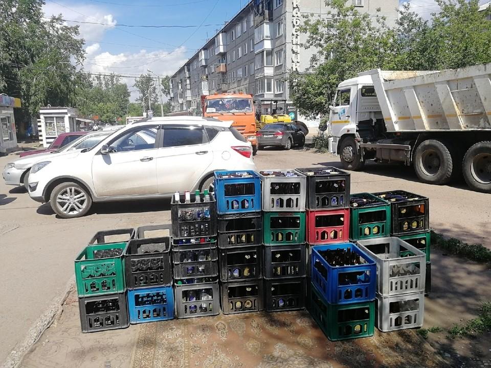 38 незаконно торгующих алкоголем павильонов снесли в Красноярске.