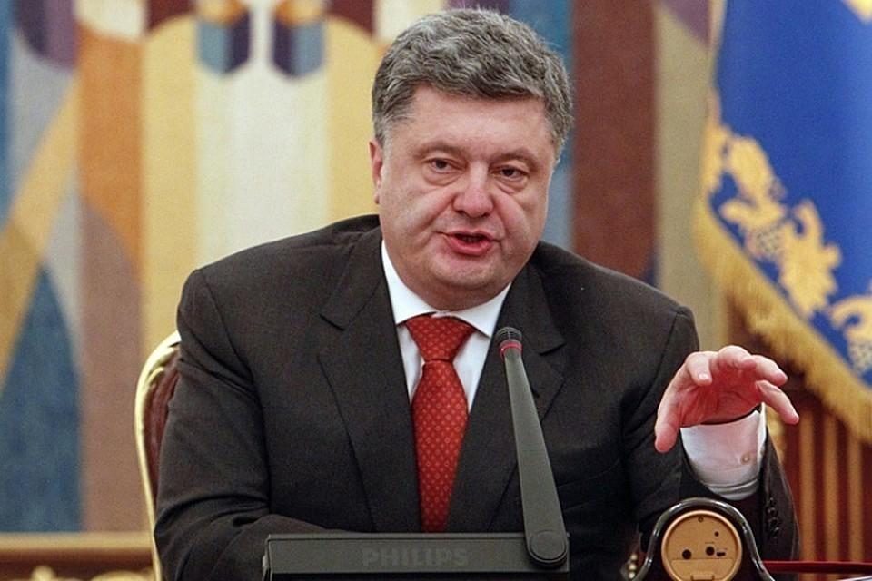 Порошенко пришел на допрос в Госбюро расследований Украины