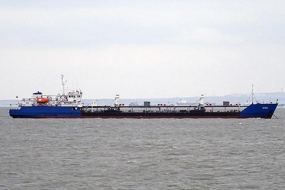 Российский танкер NEYMA. Фото Yevgeniy B. / marinetraffic.com