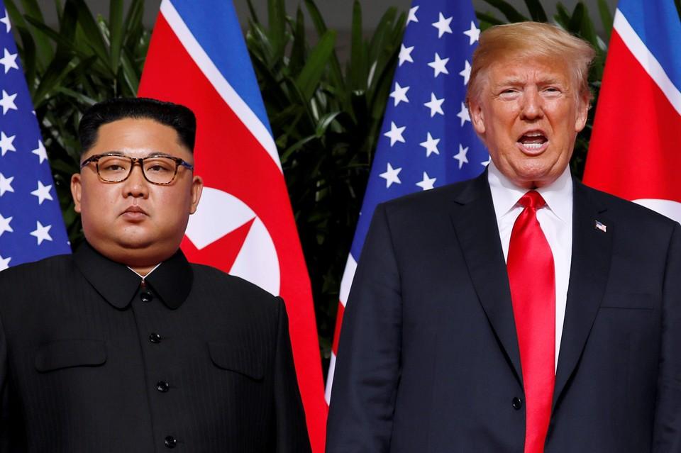 Третьи переговоры Трампа и Ким Чен Ына пока не планируются