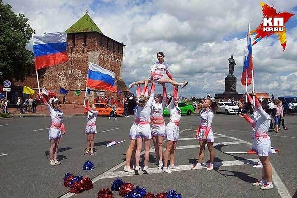 В Нижнем Новгороде появились первые элементы праздничного оформления ко Дню города - 2019
