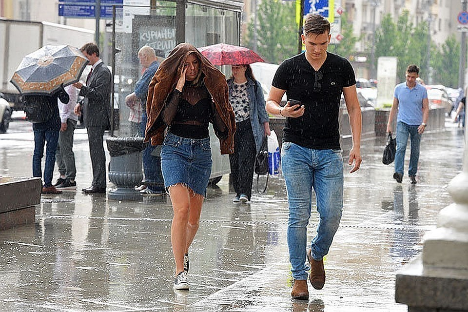 Погода в Москве на 2 августа 2019 года будет облачная с прояснениями, местами ожидаются небольшие осадки