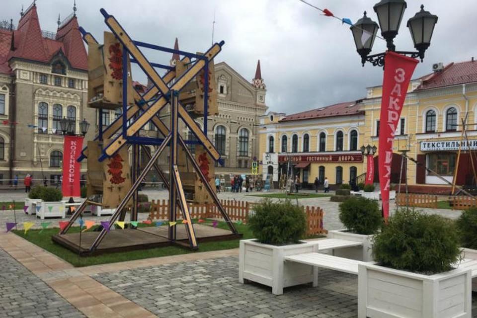 В День города Рыбинска можно будет покататься на старинных каруселях. Фото: администрация Рыбинска.