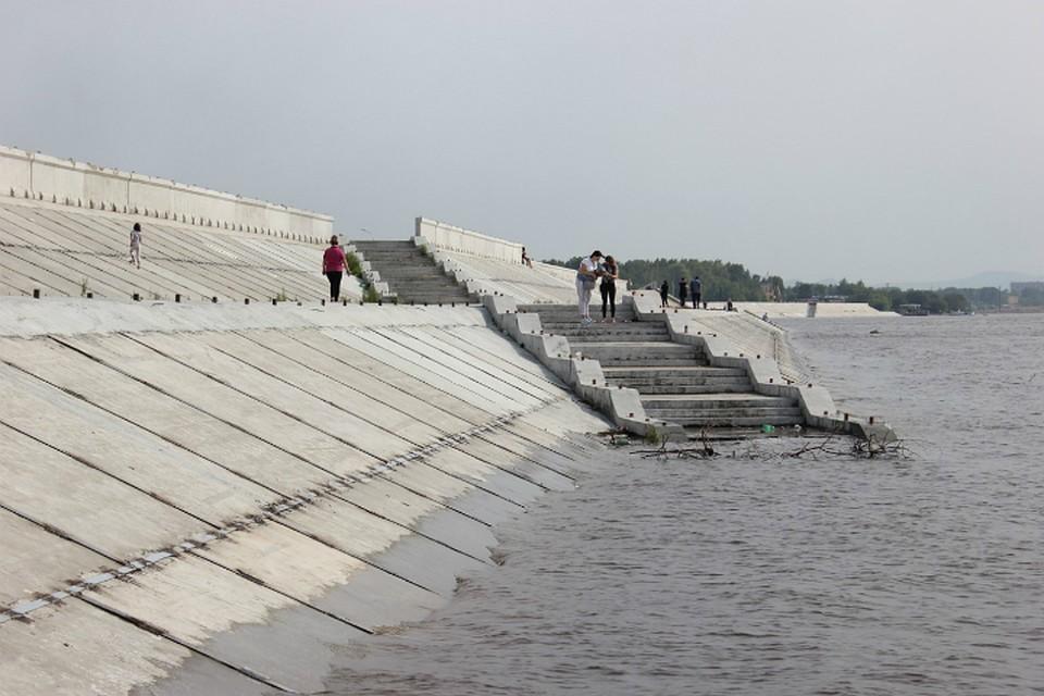 За минувшие сутки уровень Амура у Хабаровска поднялся еще на 18 сантиметров