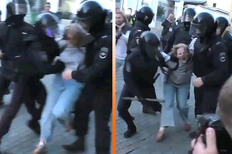 """Картинки по запросу """"полицейский бьет женщину в живо"""""""