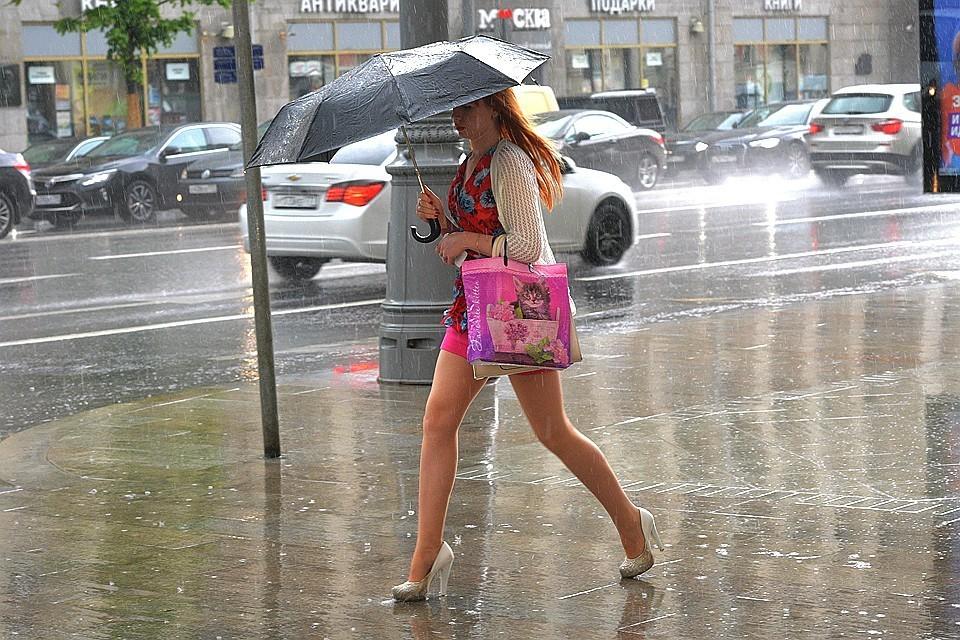 Сегодня тепло, но завтра могут быть сильные дожди!
