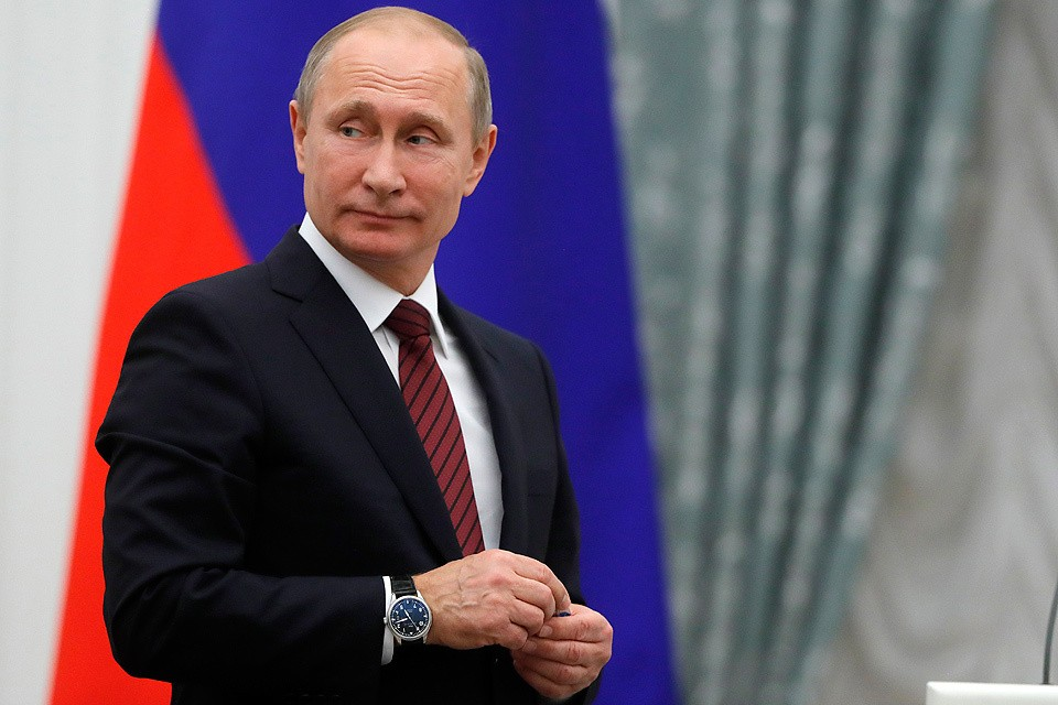 Владимир Путин. Фото Михаил Метцель / ТАСС