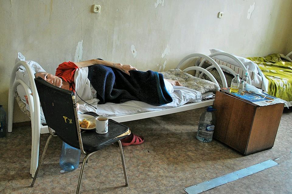 Пациент в одной из больниц Екатеринбурга.