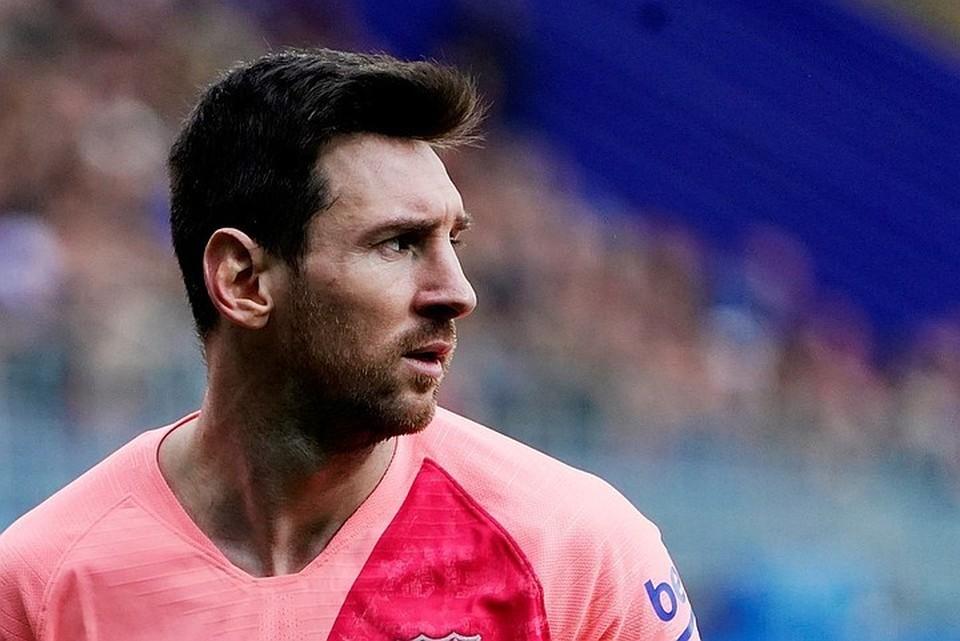 Лионель Месси, нападающий «Барселоны»