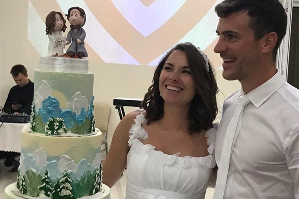 Надежда и Мартин отпраздновали свадьбу. Фото: instagram/poslushnica