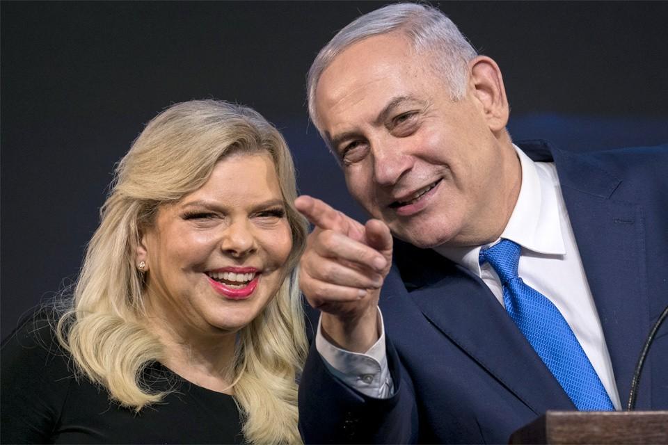 Премьер-министр Израиля Биньямин Нетаньяху с супругой Сарой.