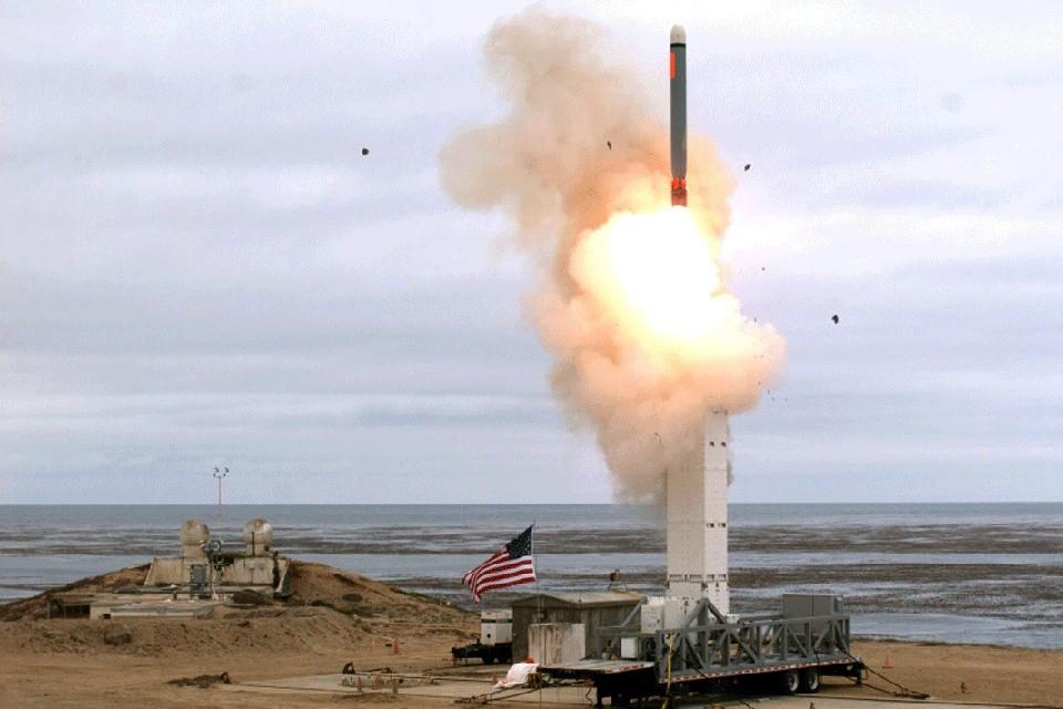 Испытания новейшей американской крылатой ракеты прошли 18 августа. ФОТО: Минобороны США