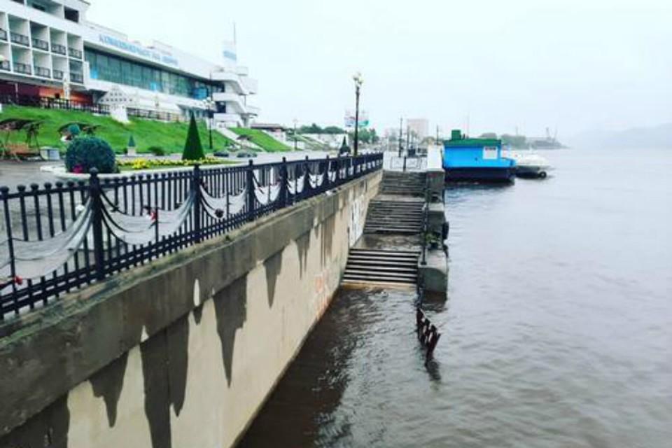 В Комсомольске гребень паводка пройдет с 31 августа по 2 сентября