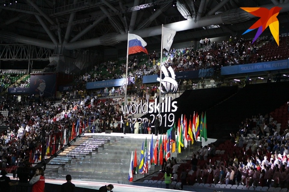 В городе состоялось открытие 45-ого международного чемпионата рабочих профессий WorldSkills.