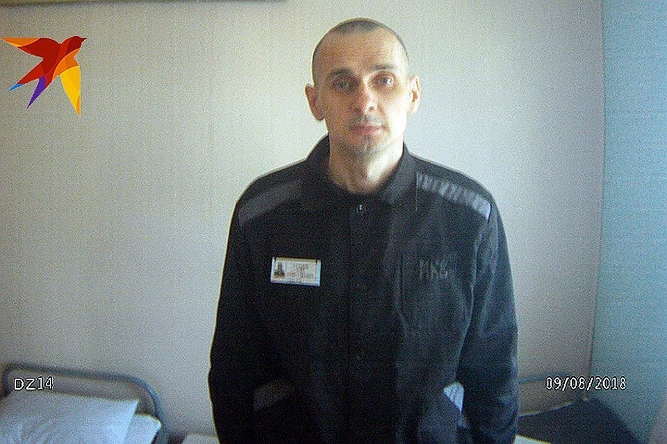 Олег Сенцов. Фото: Пресс-служба уполномоченного по защите прав человека в РФ