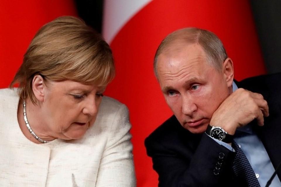 Меркель и Путин обсудили подготовку к саммиту в «Нормандском формате»