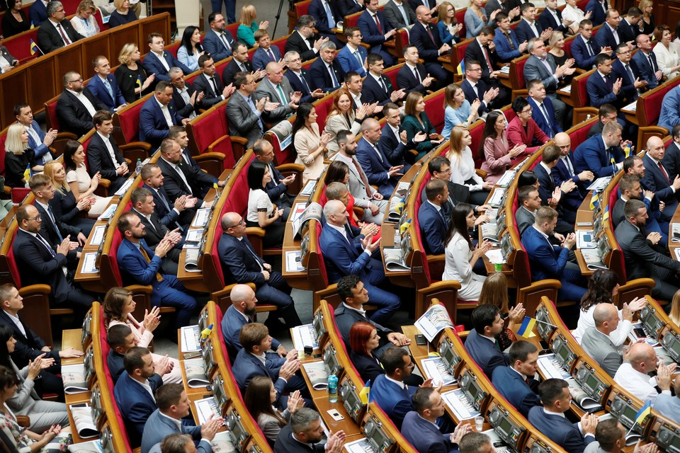 Действующий кабинет министров Украины сложил полномочия
