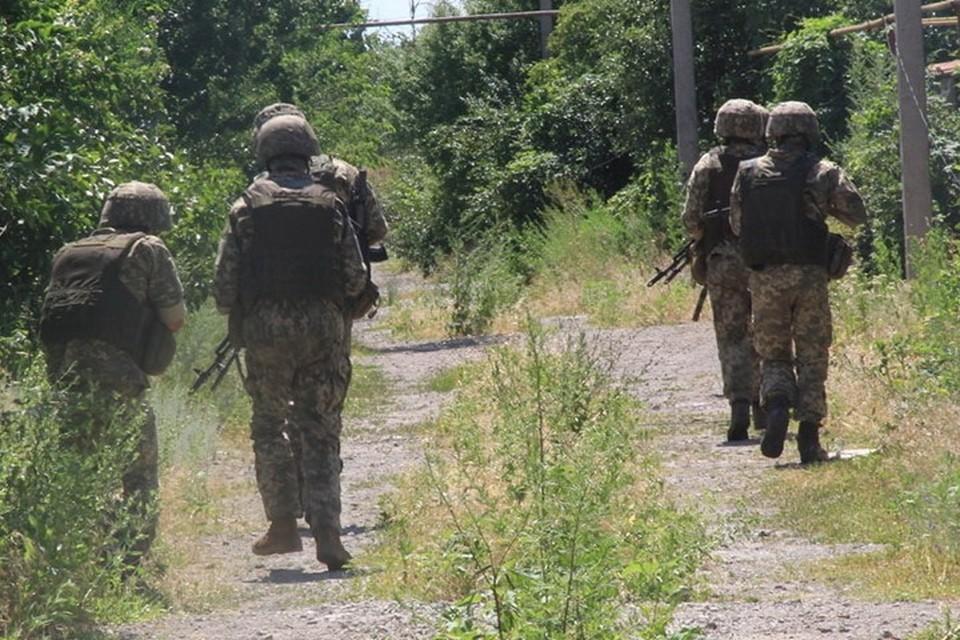 Под Горловкой украинские диверсанты продемонстрировали специалистам из НАТО свои возможности. Фото: Пресс-центр штаба ООС
