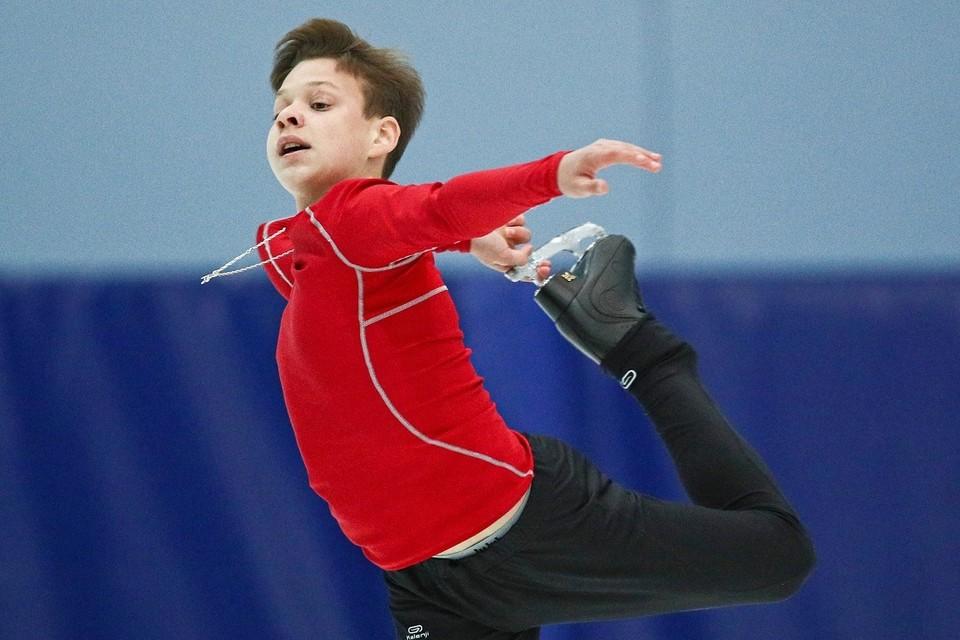 Лучший из российский юношей на Гран-при в США 2019 Глеб Лутфуллин - пока пятый. Фото: Сергей Бобылев/ТАСС