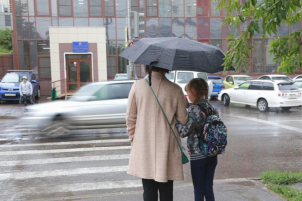 Красноярск в первую неделю осени ожидает прохлада и дожди