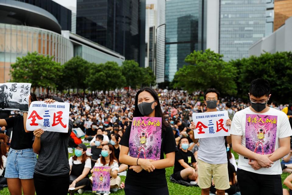 Протесты в Гонконге не прекращаются.