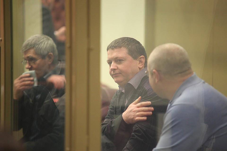 Кущевская банда в зале суда