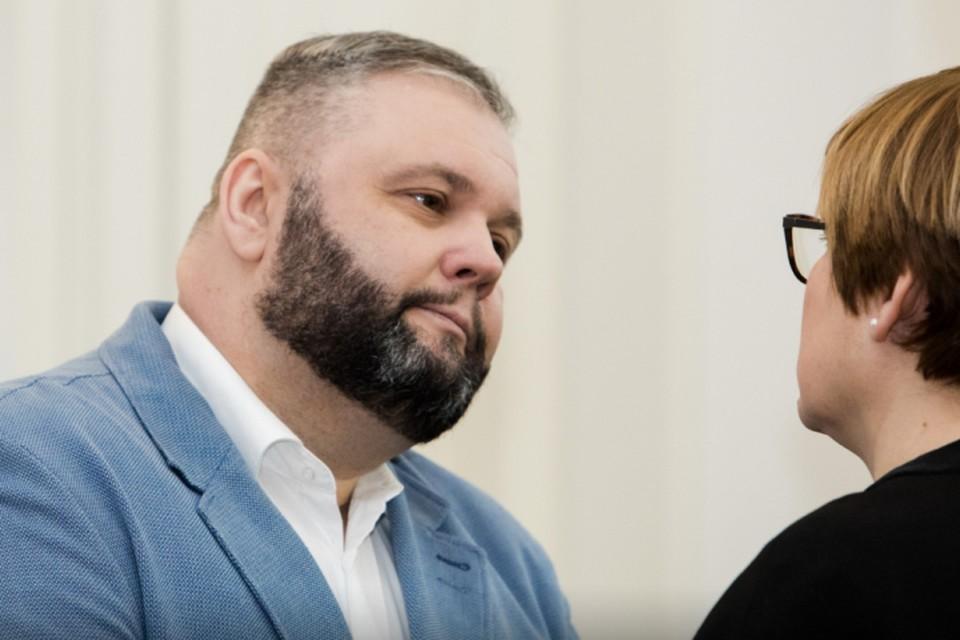 Юрий Мель на заседании суда. Литовская Фемида приговорила калининградца к 7-летнему сроку заключения.