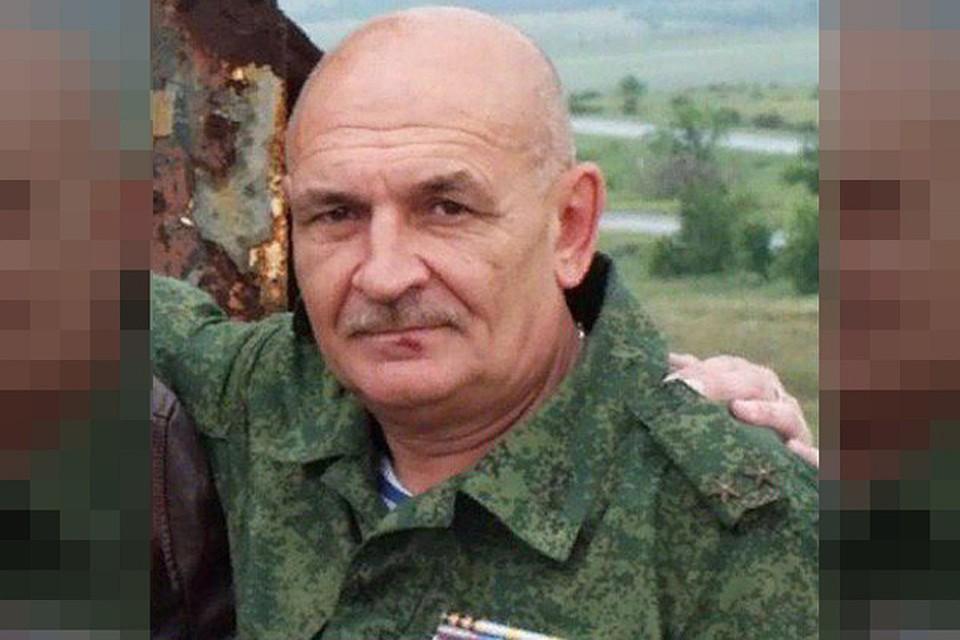Офицер ПВО ДНР Владимир Цемах. Фото: сличная страничка в соцсетях В.Цемаха