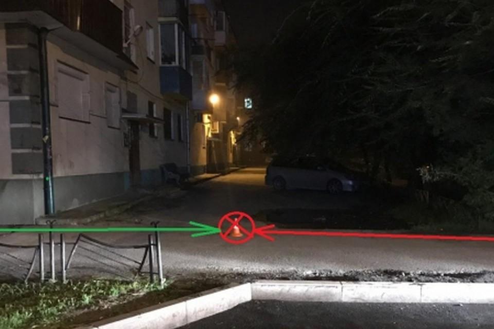 «Меня дома ждет жена»: в столице Хакасии велосипедист сбил студентку и скрылся. Фото: ГИБДД Хакасии