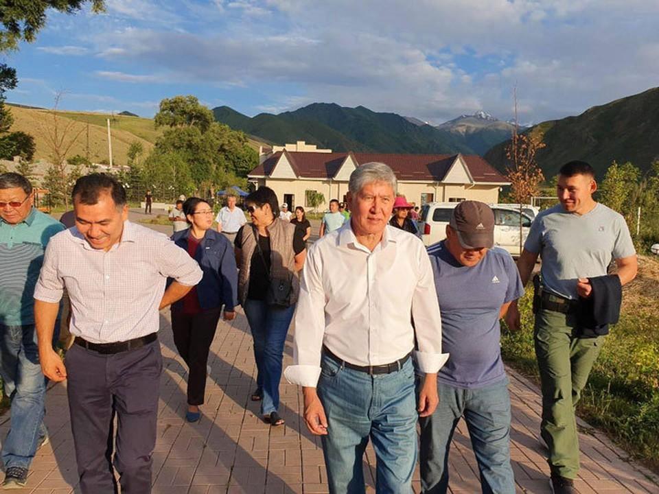Обращение сторонников Алмазбека Атамбаева будет изучено.