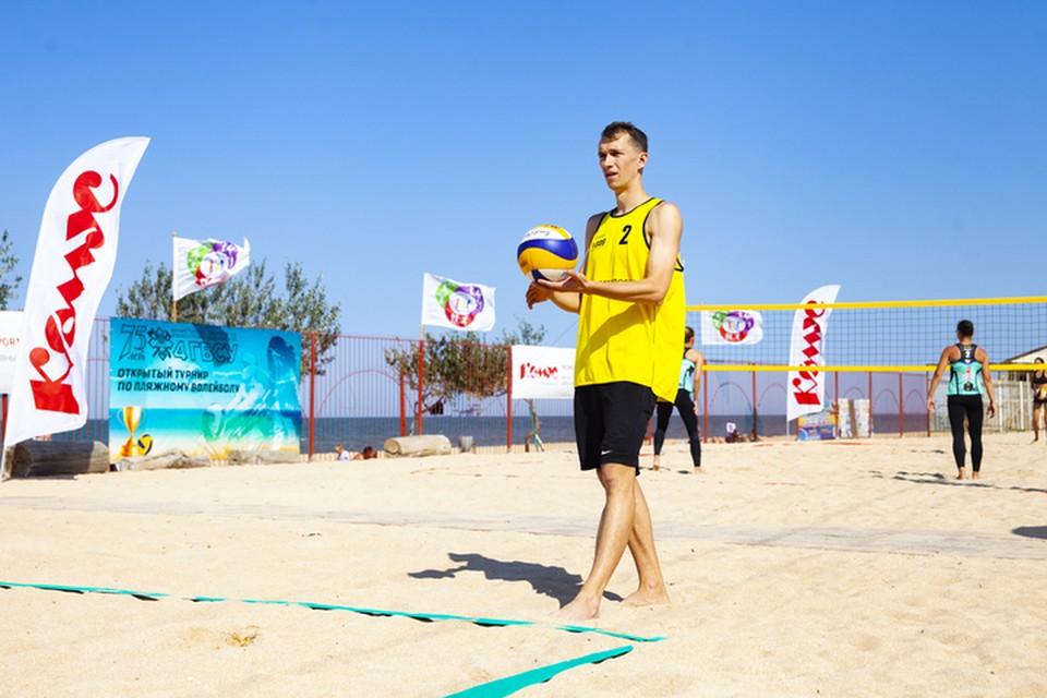 На Кубани прошел турнир по пляжному волейболу 10-го сезона серии Energy Volley